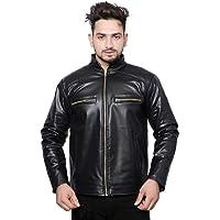 Leather Ritail Black Colour DEsigner Foux LeatherBikers Jacket