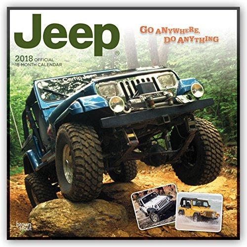 Jeep 2018 - 18-Monatskalender: Original BrownTrout-Kalender [Mehrsprachig] [Kalender] (Wall-Kalender)