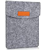 ProCase 6 Pulgadas Funda de Fieltro, Bolsa Portátil Cubierta Protectora for 5 – 6 Pulgadas Tablet Movil Smartphone, Amazon Kindle Paperwhite/Voyage / E-Reader E-Book -Gris
