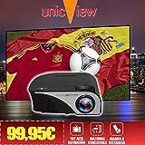 proyector con TDT Unicview SG100 negro con TDT, USB, HDMI, VGA, AC3, 2 años de garantía