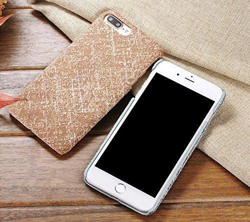 Case Cover IPhone 7, copertura dura protettiva linen texture modello per Apple IPhone 7 ( Color : 2 , Size : IPhone 7 ) 2