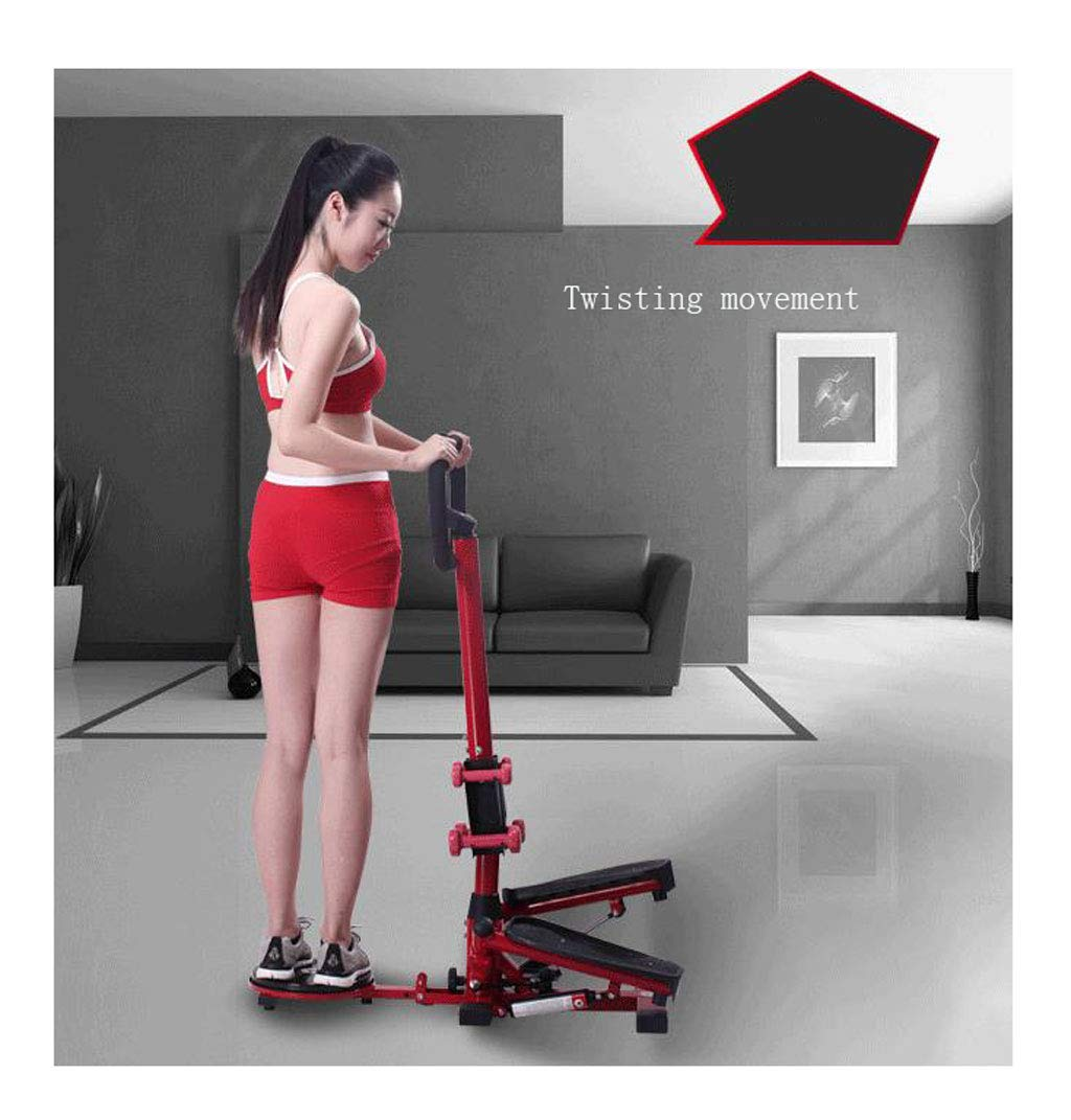 61mxHVPQELL - LY-01 Steppers Stepper With Armrests,mute Multi-function Stepper Hydraulic Climbing Stepper Pedal Exercise