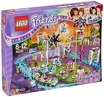 Lego 41130 Friends Amusement Park Roller Coaster Construction Set - Multi-coloured 0
