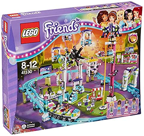 LEGO 41130 Friends Amusement Park Roller Coaster Construction Set - Multi-Coloured