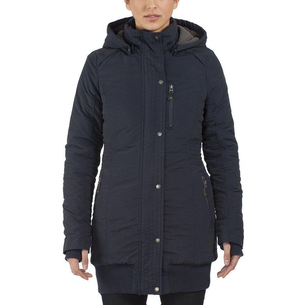 Beautiful Bench Razzer Part - 14: Bench Womenu0027s Razzer II B Parka Long Sleeve Coat, Dark Navy Blue, Size 8  (Manufacturer Size:X-Small): Amazon.co.uk: Clothing