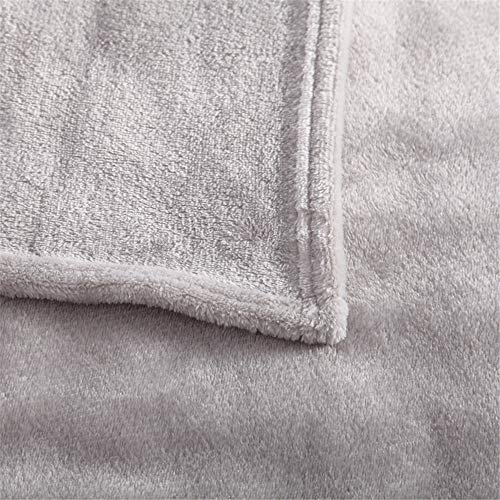 FPMFQIG Manta Textil para el hogar Verano Color sólido Super cálido Suave...