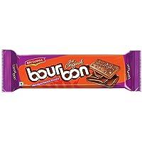 Britannia Bourbon Chocolate Cream Biscuits Pouch, 150g