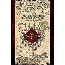 'Harry Potter The Marauders Map máximo de Póster, multicolor