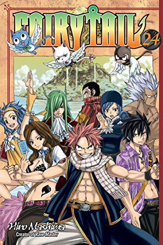 Fairy Tail 24 Cover Image