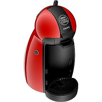 Krups Dolce Gusto Máquina de café en cápsulas 0.6L Negro, Rojo - Cafetera (Máquina de café en cápsulas, 0,6 L, Cápsula de café, 1500 W, Negro, Rojo)