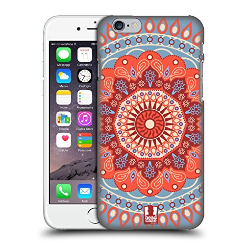 Head Case Designs Parade Rose Mandala Étui Coque D'Arrière Rigide Pour Apple iPhone 3G / 3GS Cirque De Mandarine