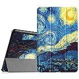 Fintie Samsung Galaxy Tab E 9.6Hülle–Ultra Dünn-Gewicht leicht Tri-Fold Smart Case Cover Schutzhülle für Samsung Galaxy Tab E 9.6SM-T560SM-T561, Starry Night