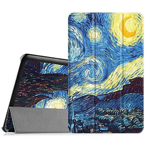 """cover tablet samsung tab e Fintie Samsung Galaxy Tab E 9.6 Custodia - Ultra Sottile Di Peso Leggero Tri-Fold Smart Case Cover Sleeve per Samsung Galaxy Tab E 9.6"""" SM-T560 SM-T561"""