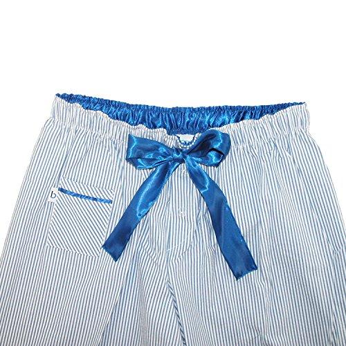 boxercraft Damen Schlafanzughose, Gestreift violett violett Einheitsgröße vivid violett