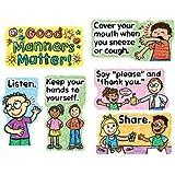 Carson Dellosa Good Manners Matter Bulletin Board Set