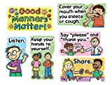 Carson Dellosa Good Manners Matter Bulletin Board Set