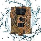seasaleshop Wildkamera mit Bewegungsmelder 1080P 12MP 120� Weitwinkel Nachtsicht 20 m IP54 Wasserdichtes Geh�use f�r die Jagd und Heimtraining Fotofalle Bild