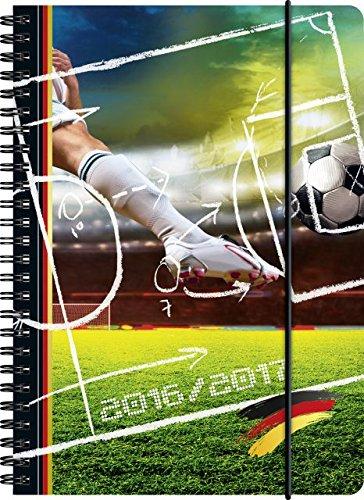 Preisvergleich Produktbild BRUNNEN Schülerkalender/Schüler-Tagebuch 2016/17 Fußball