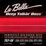 La Bella 767-6F Bass VI Edelstahl flach gewickelt 026/095