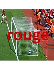 Filets de Buts Foot pour Stades, 7,3x2,4m, En couleur, Paire [Net World Sports]