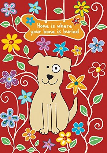 Toland Home Garden Hundeknochen, Rot