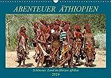 Abenteuer Äthiopien (Wandkalender 2019 DIN A3 quer): Landschaften, Tiere, Menschen und antike Bauwerke aus Äthiopien (Geburtstagskalender, 14 Seiten ) (CALVENDO Orte)