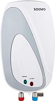 Amazon Brand - Solimo 3 Litres Instant Water Heater (3000 W, ISI Certified)