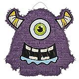 Pinata einäugiges Lila Monster für Kindergeburtstag Palandi®