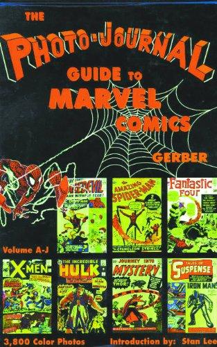 Photo-Journal Guide To Marvel Comics Volume 3 & 4 Set -