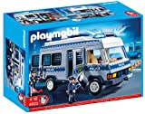 Playmobil 4023 Police Van With Police Officers   Multi Coloured