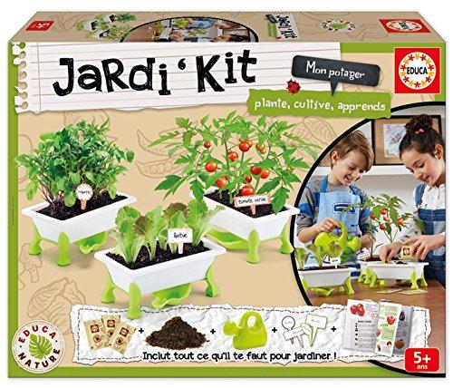Educa Borras Kid's Garden - Tomates, Laitue