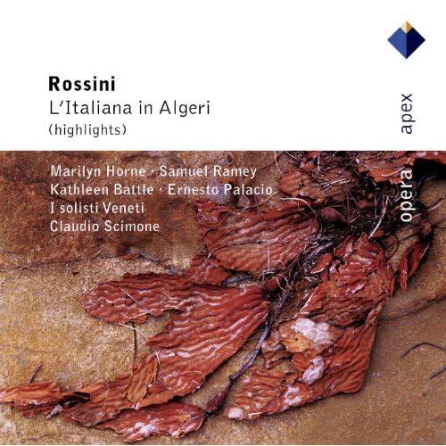 """Rossini : L'italiana in Algeri : Act 2 """"Ho un gran peso sulla testa"""" [Taddeo, Chorus]"""