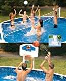Pool Jam Combo Basketball and Volleyball Above...