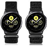Vodtian 20mm Cinturino per Orologio da Polso a Cambio Rapido per Samsung Galaxy Watch 42mm/Active2 44mm 40mm/Gear Sport/Gear