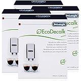 Delonghi Ecodecalk Lot de 4 détartrants 2 x 100 ml