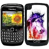 Coque pour Blackberry Curve 8520/8530/9300/9330 - Cheval D'aquarelle by Ancello