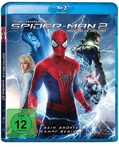 The Amazing Spider-Man 2: Rise of Electro [Blu-ray] (Amazing Spiderman 2 Electro)