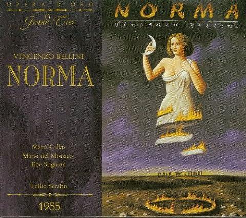 Bellini : Norma. Callas, del Monaco, Stignani, Serafin.