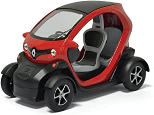 Fusine™ Kinsmart Renault Twizy - 5'' Die Cast Metal * Pull Back Action Toy Car, Color May Vary
