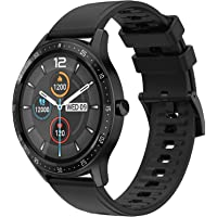 Fire-Boltt 360 SpO2 Full Touch Large Display Round Smart Watch with in-Built Games, 8 Days Battery Life, IP67 Water…