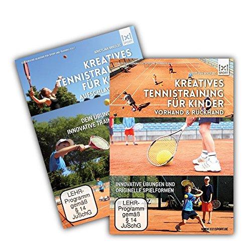 Das Kreative Tennistrainings- Paket für Kinder mit 2 DVDs