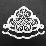 Qinpin Stanzschablone, DIY Scrapbooking, DIY Stanzformen Blumen Metall Prägung Schablone für Album Scrapbooking Papier Karten Kunst Handwerk, Karbonstahl, e, Einheitsgröße