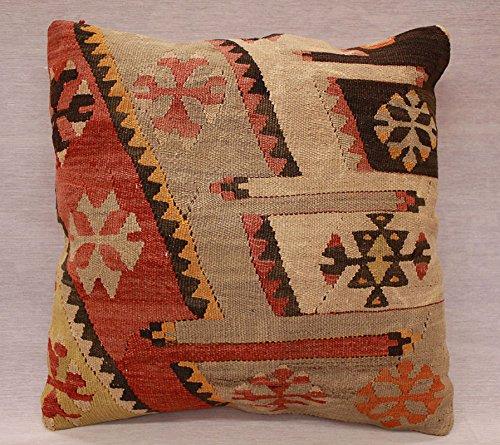 ETFA Kelim Kissen Kissenbezug Kissenhülle cushion cover pillow 40x40 cm 3561