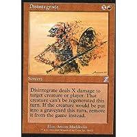 Magic: the Gathering - Disintegrate - Disintegrazione - Time