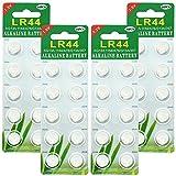 40 Pack LR44 AG13 357 303 SR44 1.5V Battery JOOBEF Alkaline Battery Button Cell for Laser Pointer Watch Toy