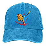 Cheetah Fire Denim Hat Adjustable Men