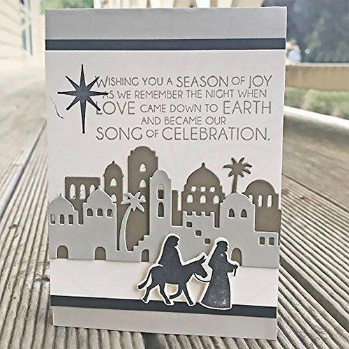 InLoveArts vogvigo DIY Metall Formen für Scrapbooking Embossing Schablonen Album Papier Karte Hand Craft Dekoration Vorlage Weihnachten Halloween Festival Serie