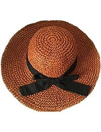 TYGRR Europa Grande Cappello Lato Della Spiaggia Grande Tesa Cappello Da  Sole Bambino Piegatura Arco Cappello 982c58393f38