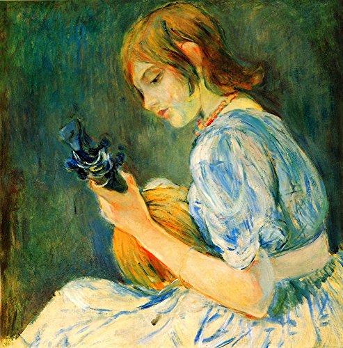Das Museum Outlet–Die Mandoline by Morisot–Leinwanddruck Online kaufen (152,4x 203,2cm)