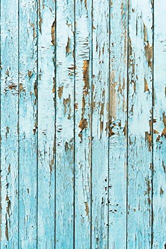 kingko Fotohintergrund,Vinyl Holz Wand Boden Fotografie Studio Prop Kulisse Hintergrund 3x5FT Fotohintergrund Hochzeit Vintage Fotohintergrund Textur für Hochzeit Fotostudio (C) - 5' Wand